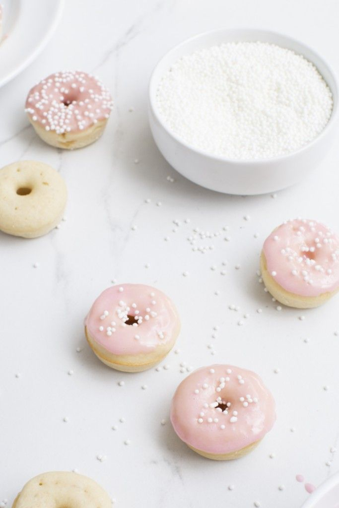 mini vanilla bean donut ☆
