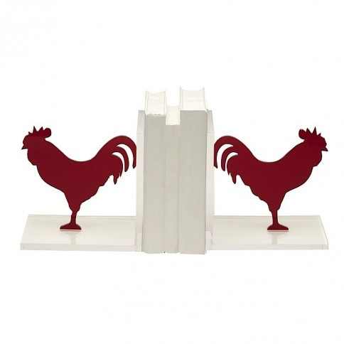 Strikingly Idea Bird Bookends. More ideas  Red Rooster Bookends 27 best Kitchen images on Pinterest Book