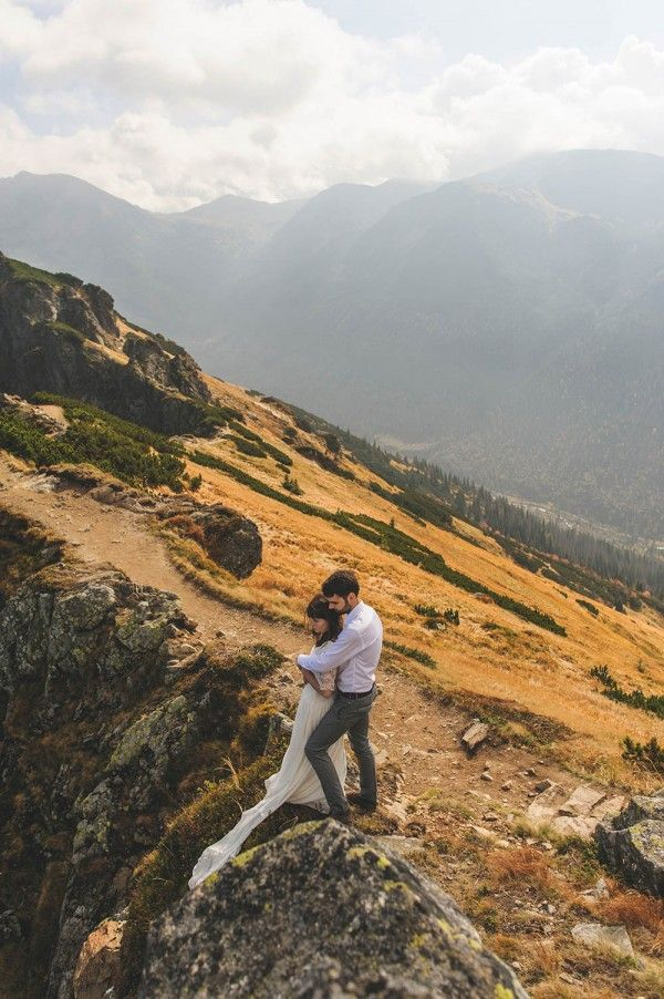 Epic Mountain Wedding Photos by DreamEyeStudio