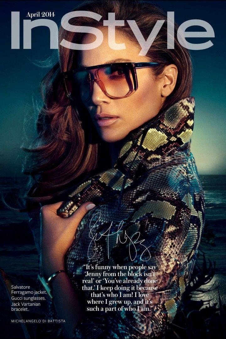 Jennifer Lopez x In Style April 2014 1