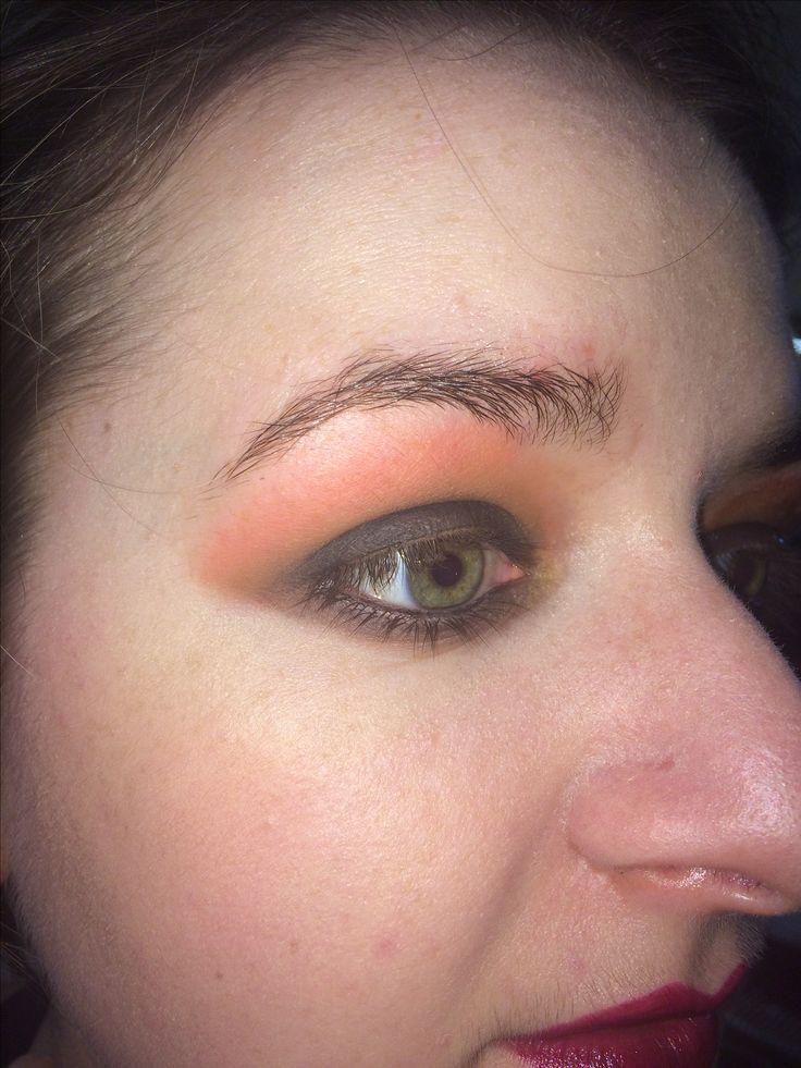 3 colour blend🔥 #fire #smokeyeye #makeup #fashion&photo