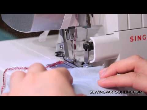 How to Gather on a Serger / Overlock Machine