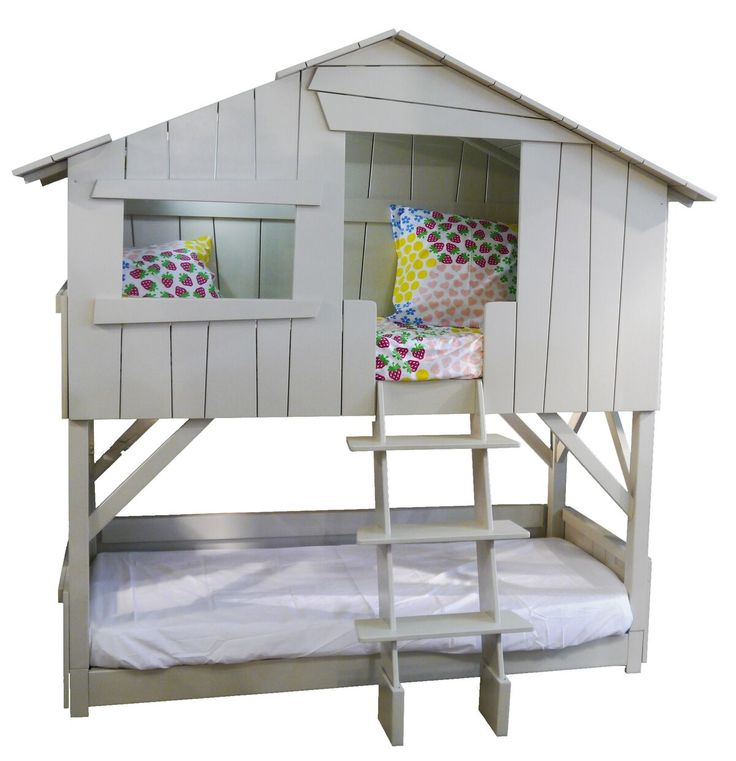 Treehouse dubbel barnsäng från Mathy By Bols hos ConfidentLiving.se