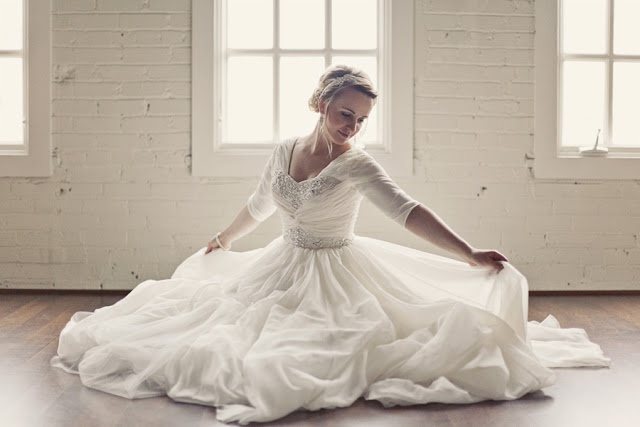 239 Best Modest Wedding Gowns Images On Pinterest