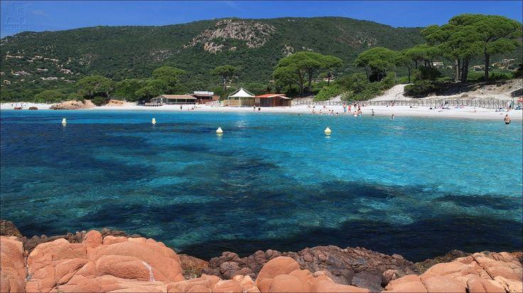 Plage de Palombaggia - Corse du sud - France