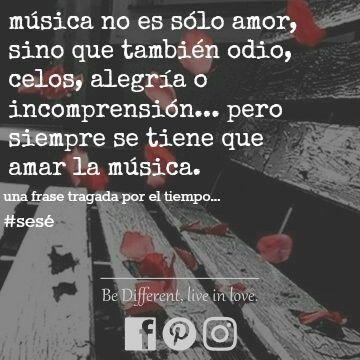una frase viejita que escribí hace como tres años... quién diría que en ese entonces escribía y no hacía sólo copy paste 😂          #sesé••••#frases #bdlil #bedifferentliveinlove #bedifferent #bedifferentbdlil #facebook #pinterest #instagram #bookstagram #tbt #frase #musica #amor #amorporlamusica #music #musiclove #alegria #incomprension #amoreterno #eternidad #odio #celos
