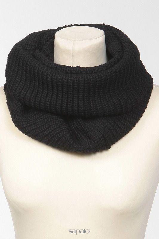 Купить черные платки/шарфы/палантины Шарф-снуд в интернет-магазине Sapato