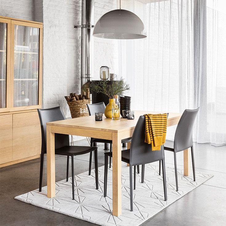 muebles y decoracin de interiores u maisons du monde with table stockholm maison du monde. Black Bedroom Furniture Sets. Home Design Ideas