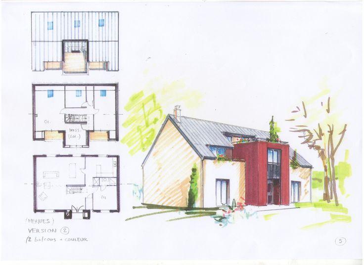 24 best Plans et dessins de maisons DIOGO FERNANDES images on