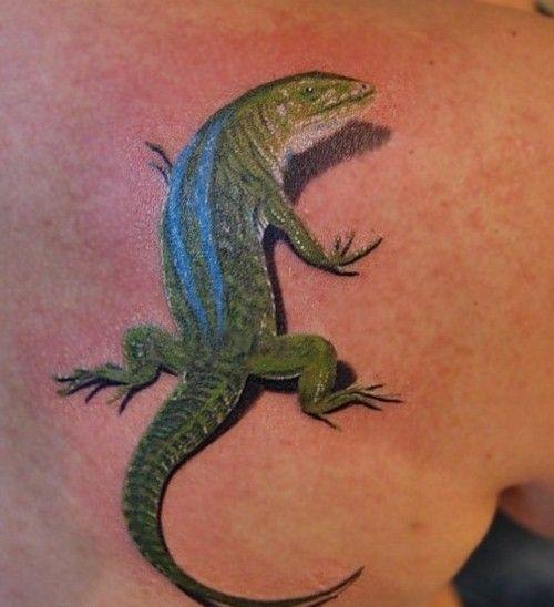 Татуировка ящерица все чаще встречается среди любителей татуировки, трепетно относящимся к ее символизму пришедшему к нам с глубокой древности. Сегодня, основной символизм тату ящерица-сексуальность, но на протяжении веков, это существо, у многих народов имело более глубокий смысл.