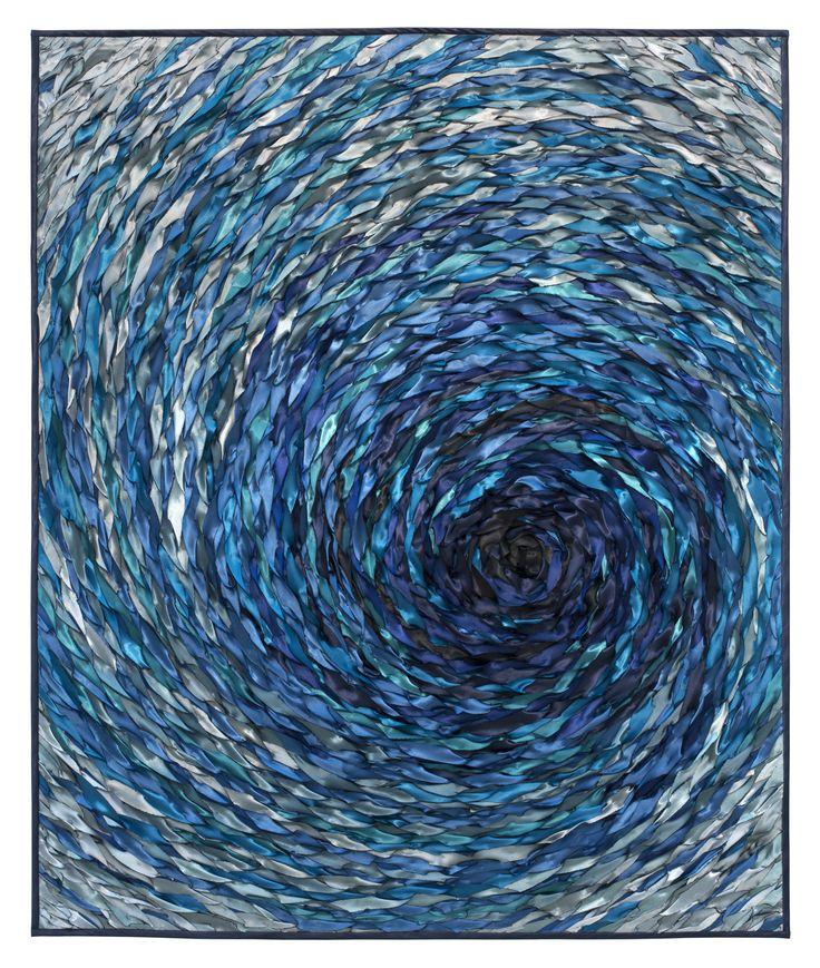 Whirlpool By Tim Harding Fiber Wall Hanging Artful