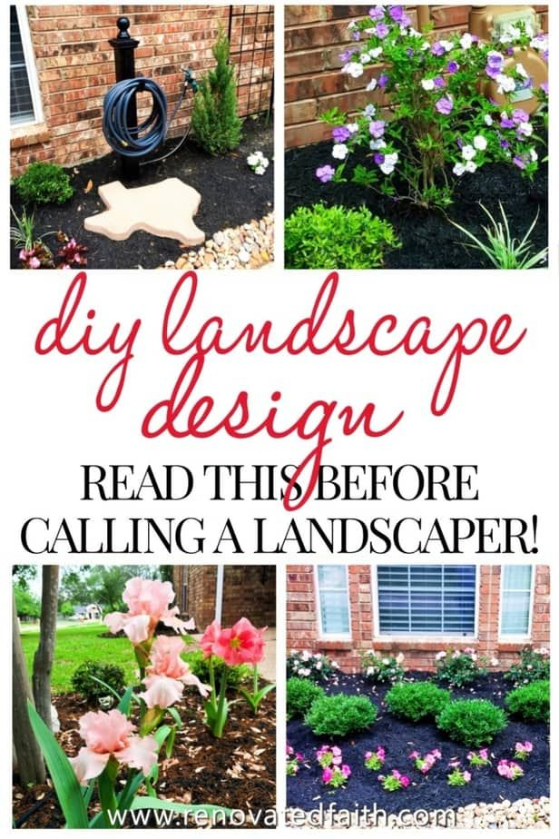 Best Front Yard Landscaping Ideas On A Budget Diy Landscape Design In 2020 Front Yard Landscaping Simple Yard Landscaping Simple Beginners Landscaping