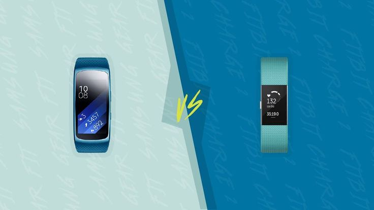 The Samsung Gear Fit 2 and the Fitbit Charge 2 are two of our highest-rated fitness trackers. But how do they compare?
