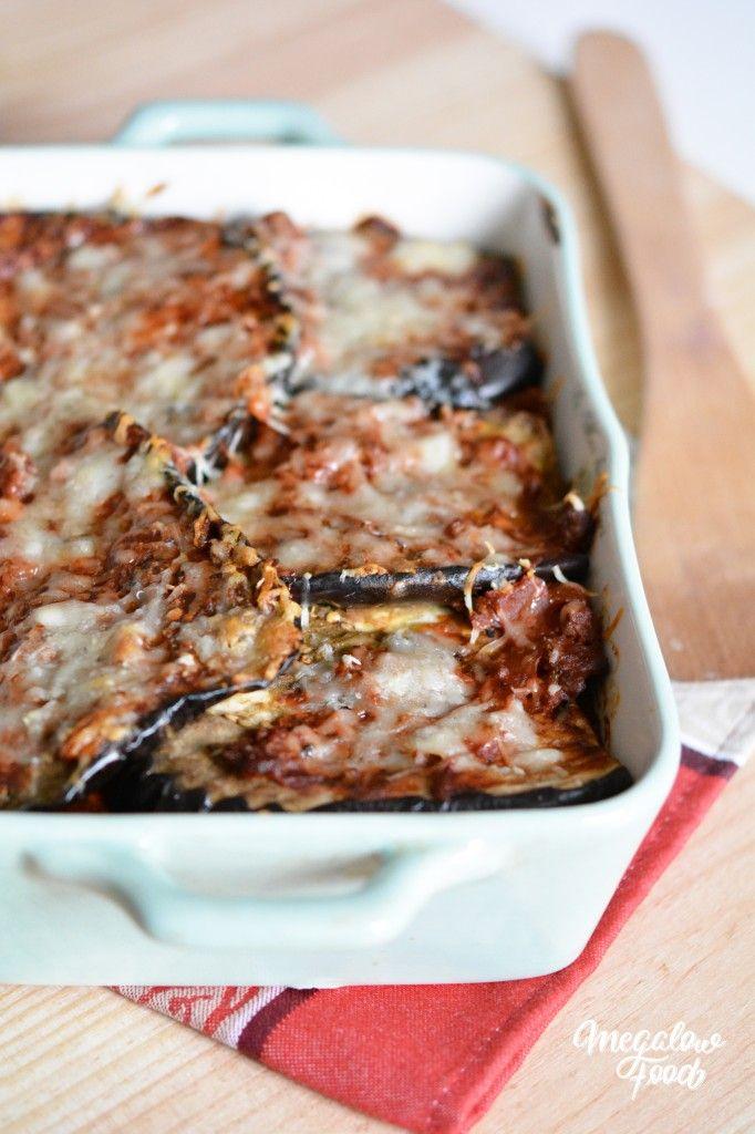 Lasagnes d'aubergines au boeuf – Megalow Food