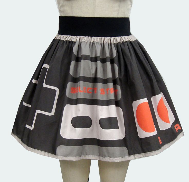 Up up, down down, left right, left right, select this skirt! #etsy