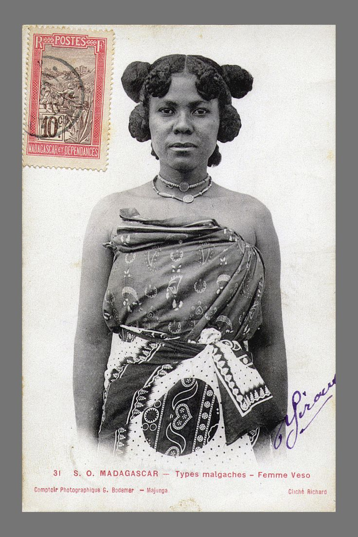 Madagascan woman, c 1898