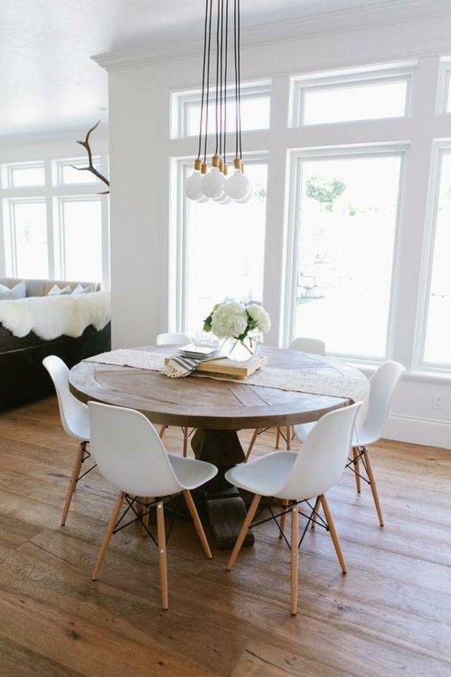 Esstisch Lampen Richtig Ins Szene Setzen Eames Esszimmer Speisezimmereinrichtung Kuchentisch Rund