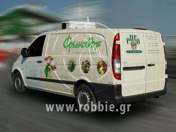 Φρεσκούλης - Van / Σήμανση οχημάτων Για περισσότερα κάντε κλικ εδώ ➤ http://s.robbie.gr/2sMWnzQ #Αυτοκόλλητα_Vector #Μερική_Κάλυψη #Σήμανση_Οχημάτων #Στόλοι_Εταιρειών #Ψηφιακές_Εκτυπώσεις #robbieadv #robbie_adinandout