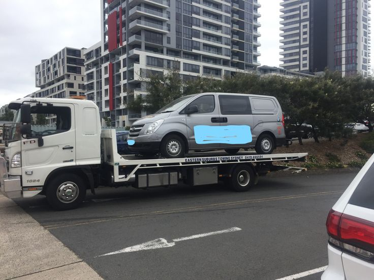 #Towing a Hyundai Iload from #Saint #Peter's to Suttons City Hyundai in #Rosebery. for #car & #motorcycle #Towing in #Sydney call Eastern Suburbs Towing Sydney on 0419466591. Check out our website @ www.easternsuburbstowingsydney.com.au