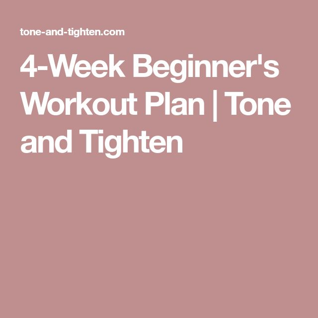 The 25+ best Beginner workout plans ideas on Pinterest Daily - weekly exercise plans