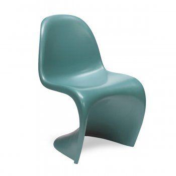 Verner Panton Silla S - Azul Cerceta (Edición Limitada)