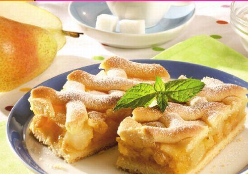 Plăcintă cu lămâie şi mere #delicious #pie
