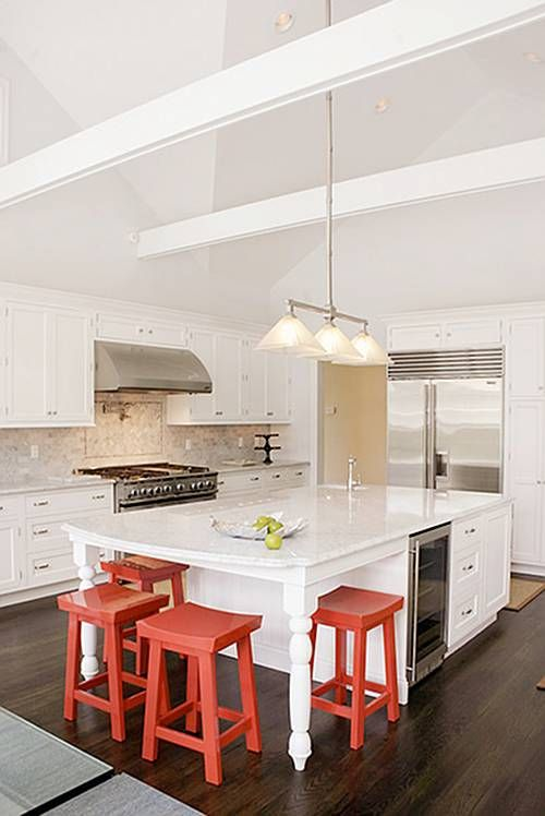White Kitchen Island Bench best 25+ island table ideas only on pinterest | kitchen booth