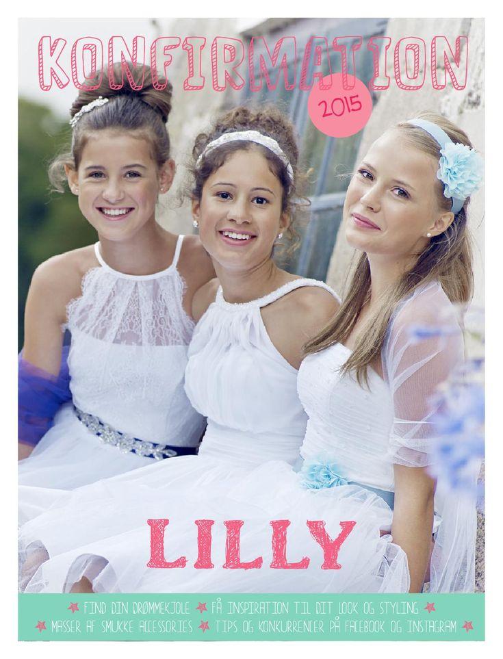Konfirmationskjolerne fra LILLY til 2015 kombinerer det klassiske, sporty og feminine. Blondetoppe med lange ærmer er årets MUST HAVE. De nye konfirmationskjoler er fint taljerede, i den klassiske høje talje og nederdelene har masser af vidde i lette materialer, som organza og tyl. De hvide kjoler kan styles med delikate, broderede bælter i sarte, støvede pasteller som rosa, lyslilla, lysblå eller mintgrøn. De luftige farver giver dit look lethed og virker som en blid ramme om de hvide…