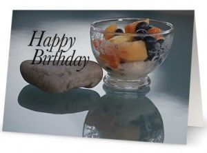 Dessert – Happy Birthday