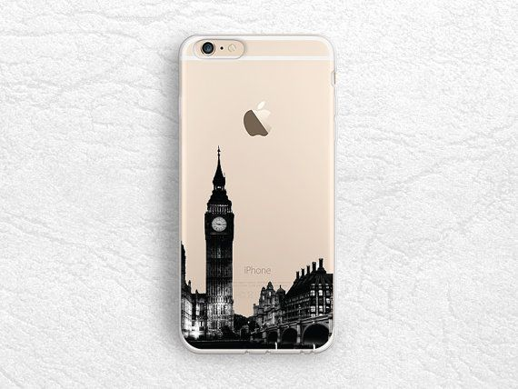 London City View iPhone 6/6s transparent case by CasesByLorraine