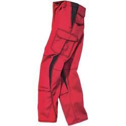 Kübler Workwear - Hose Image Dress New Design 2346 Mittel-Rot/schwarz, Größe 25Toolineo.de