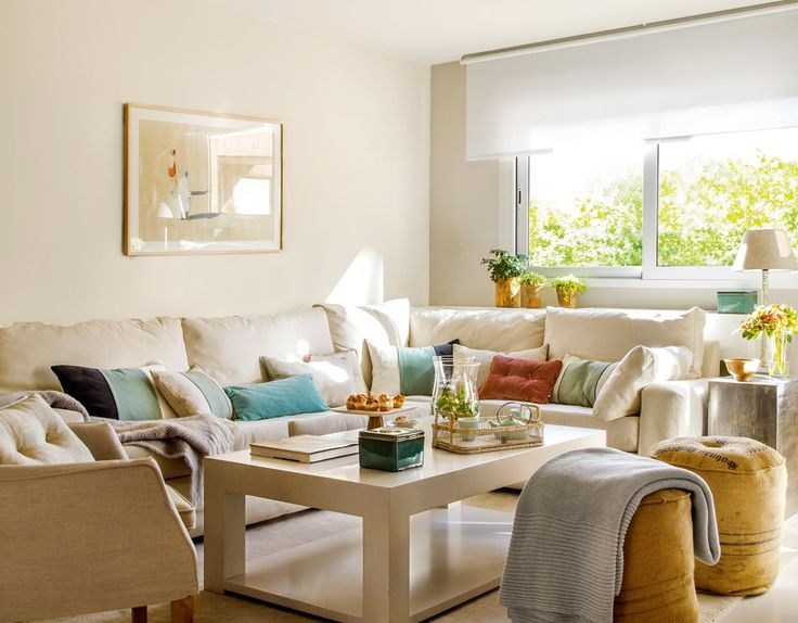 17 mejores ideas sobre cortinas de sala de estar en for Decoracion piso bajo