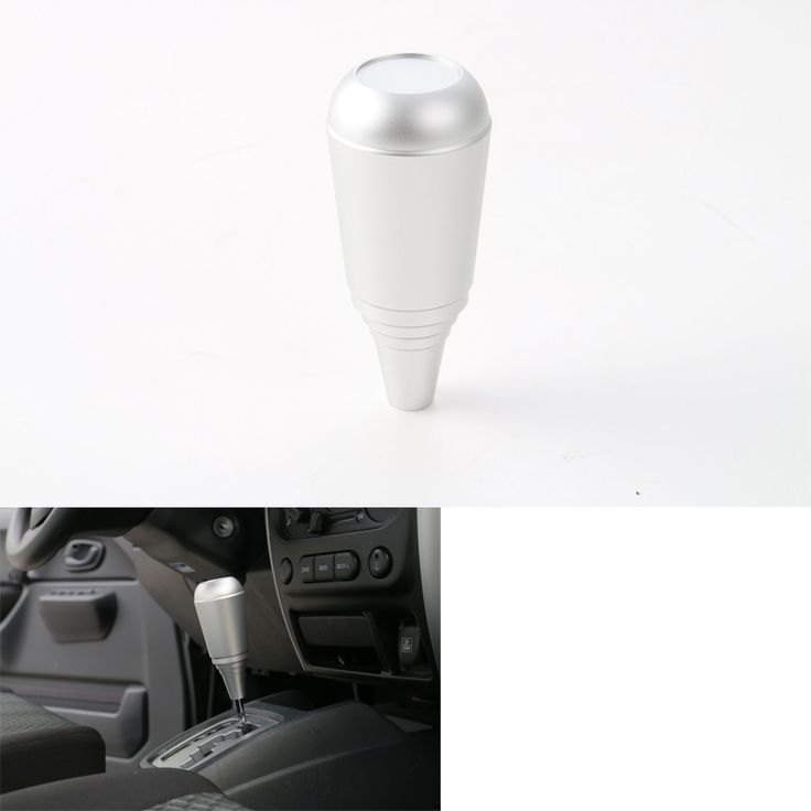 YAQUICKA Fit For Suzuki Jimny 2007-2015 Car Manual Gear Shift Knob Head Stick Shifter Lever Cover Aluminum Alloy Silver #Affiliate