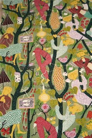 Fabric lustg rden garden of eden designed by stig for Garden of eden xml design pattern