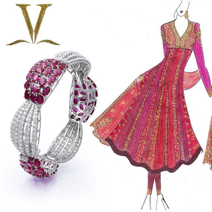 Magnificent Jewelry  #Adornologist #VarunaDJani #Mumbai #bangle