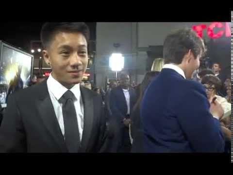 Brandon Soo Hoo at the Ender's Game movie premiere