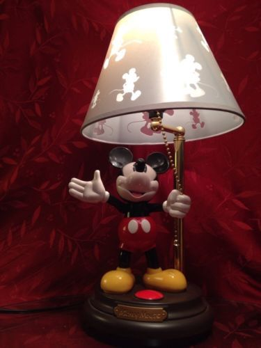 Talking mickey mouse, Mickey mouse lamp and Mickey mouse ...