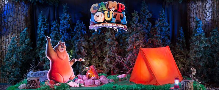 Camp Out Decor