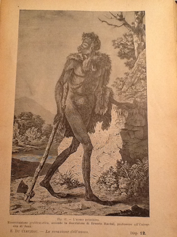 Primitive Man according to Herr Ernst Haeckel, professor of the Jena University