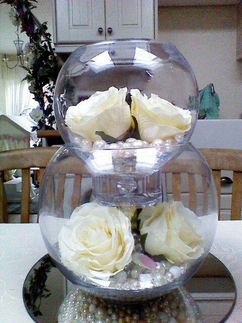 Ivory eternity roses for that timeless feeling.
