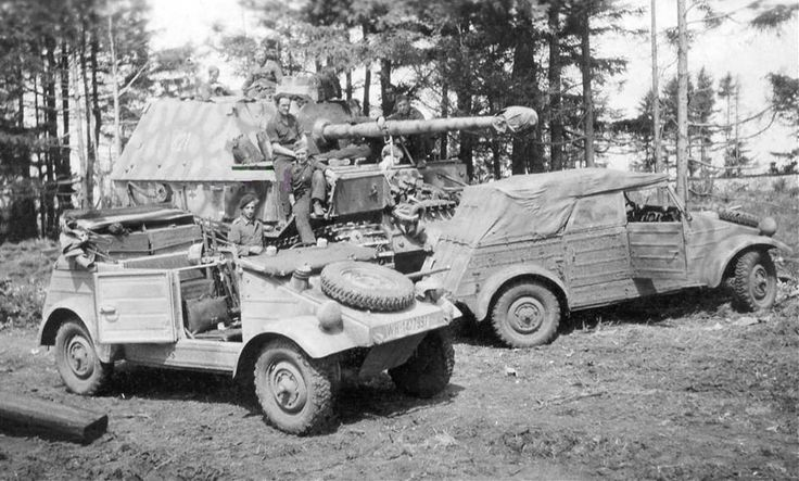 Panzerj 228 Ger Ferdinand U Two K 252 Belwagen Vw Type 82 Just