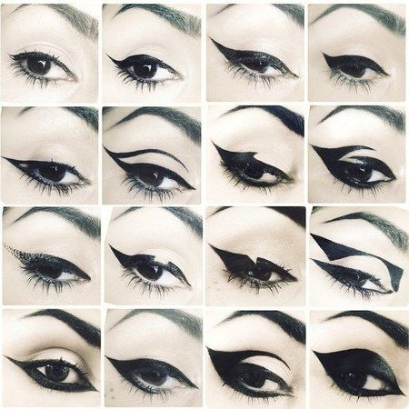 25 best ideas about different eyeliner styles on