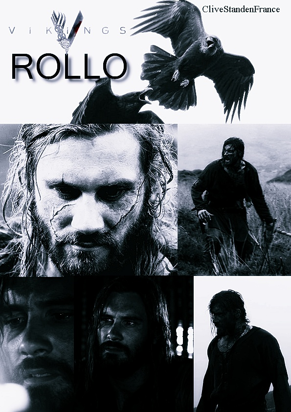 In this case, no, I won't share my last Rollo.  ;)  Rollo (Vikings) - Clive Standen