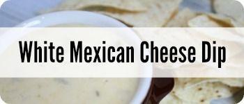 white mexican cheese dip side bar