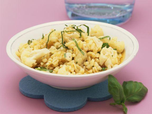Blumenkohl mit Zartweizen ist ein Rezept mit frischen Zutaten aus der Kategorie Blütengemüse. Probieren Sie dieses und weitere Rezepte von EAT SMARTER!