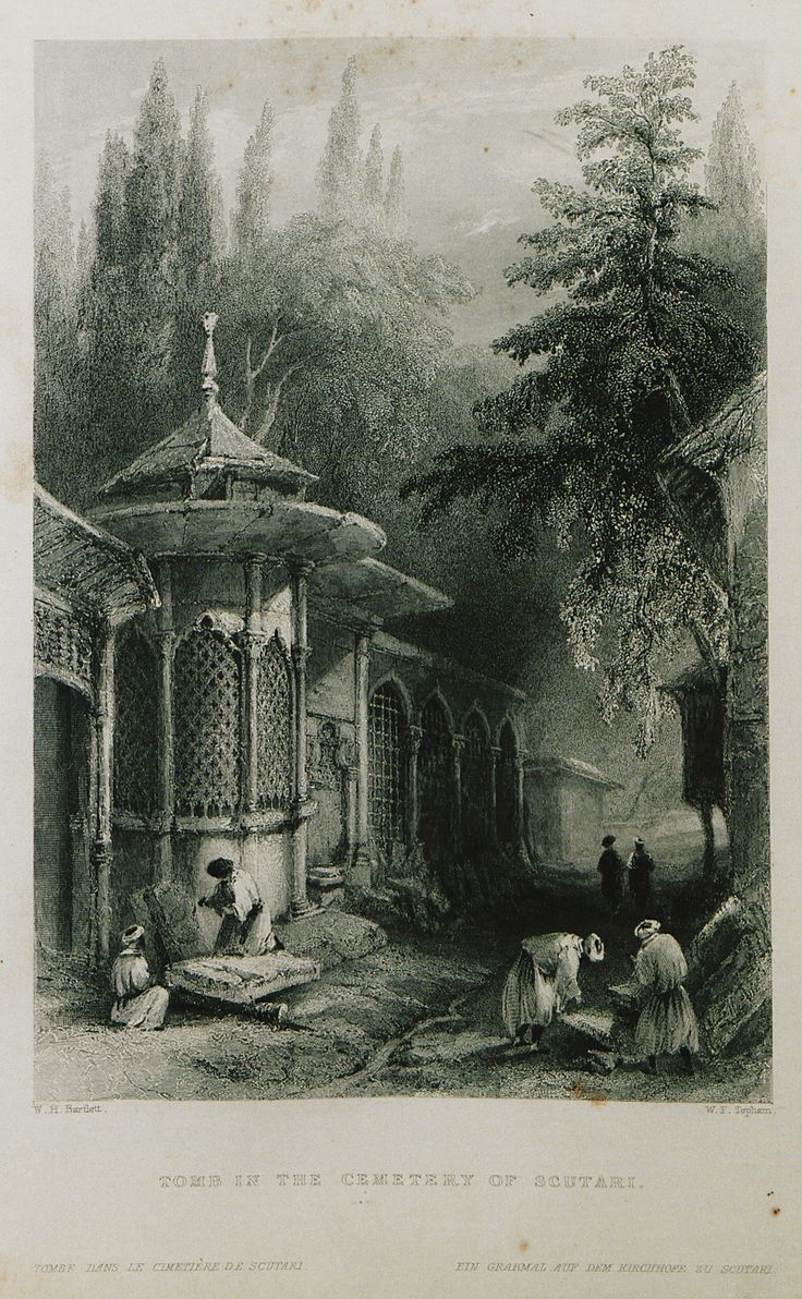 Üsküdar-(The Beauties of the Bosphorus; by Miss Pardoe, from drawings by W. H. Bartlett.)'1874