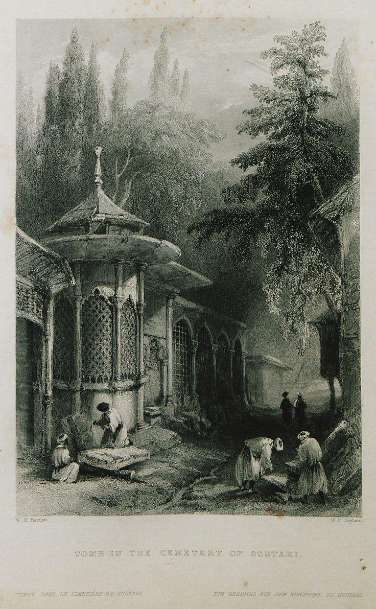Üsküdar-(The Beauties of the Bosphorus; by Miss Pardoe, from drawings by W. H. Bartlett.)'1874