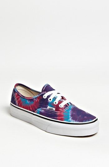 Vans 'Authentic - Tie Dye' Sneaker (Women) available at #Nordstrom