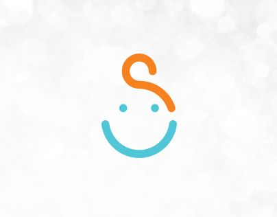 """Sorriso means """"smile"""" and client wanted a logo that will spread positive vibrations wherever may it be applied. Centre is mainly focused on working with children with developmental disabilities so design needed to be simple and joyful."""