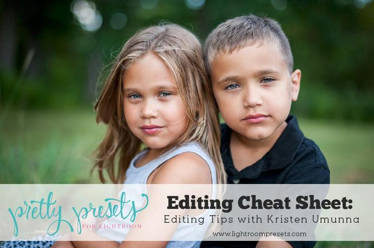 Learn some valuable tips and tricks from Kristen as she shares how she edits images of children in Lightroom. Be sure you learn her amazing secrets here!